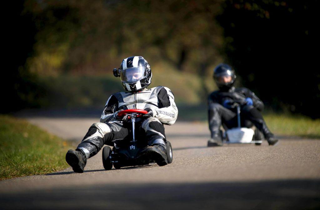 Am kommenden Wochenende steigt das Bobbycar-Rennen in Urbach.Foto:Gottfried Stoppel Foto: