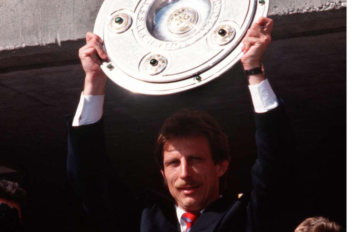 Meistermacher 1992: VfB-Trainer Christoph DaumChristoph Daum war von 1990 bis 1993 Trainer des VfB. Foto: dpa/Baumann