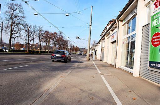Radweg in der Mercedesstraße gefordert