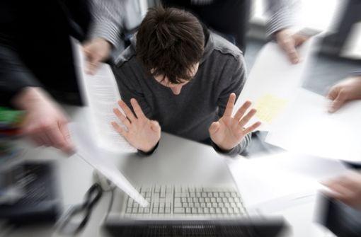 Arbeitsverdichtung wirkt immer belastender