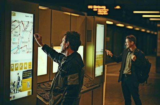 SSB testen  digitale Auskunft per Fingerzeig