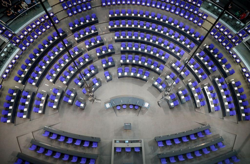 Am Dienstag konstituiert sich der 19. Deutsche Bundestag – erstmals mit einer Fraktion der AfD. Foto: dpa