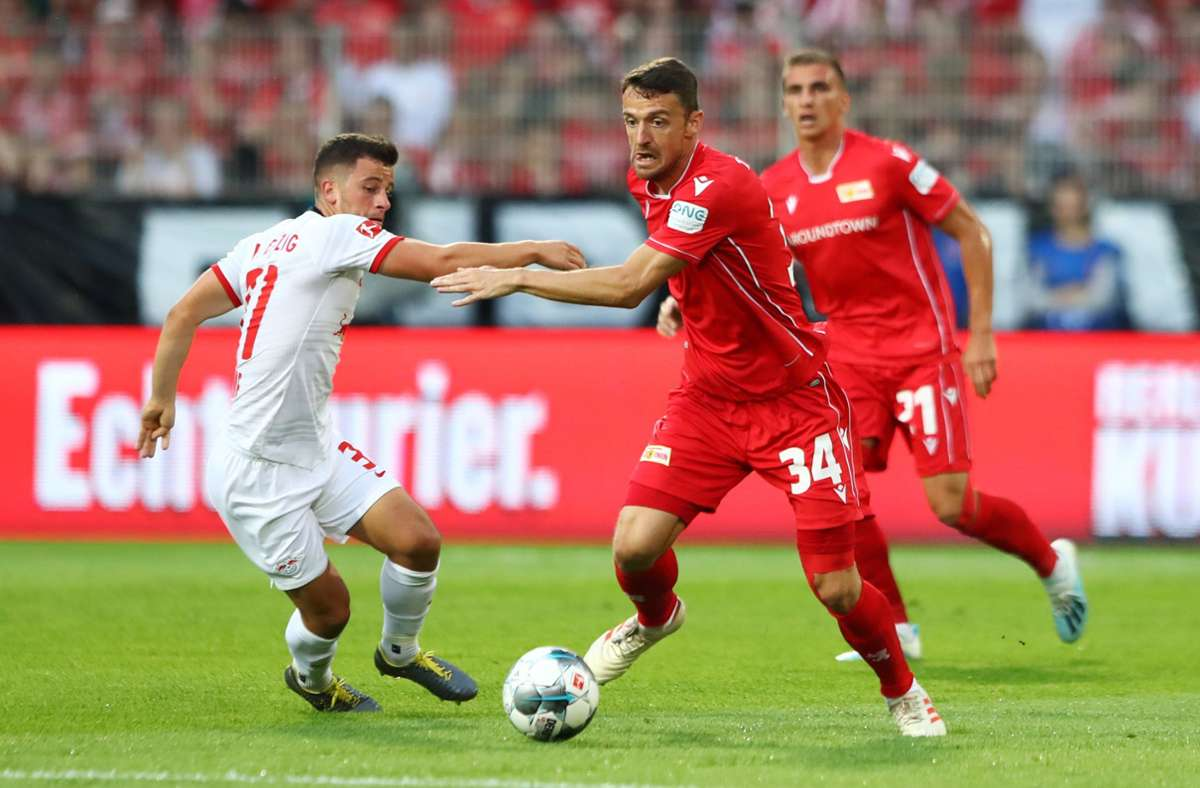 Christian Gentner im Einsatz für Union Berlin. Foto: Bongarts/Getty Images/Martin Rose