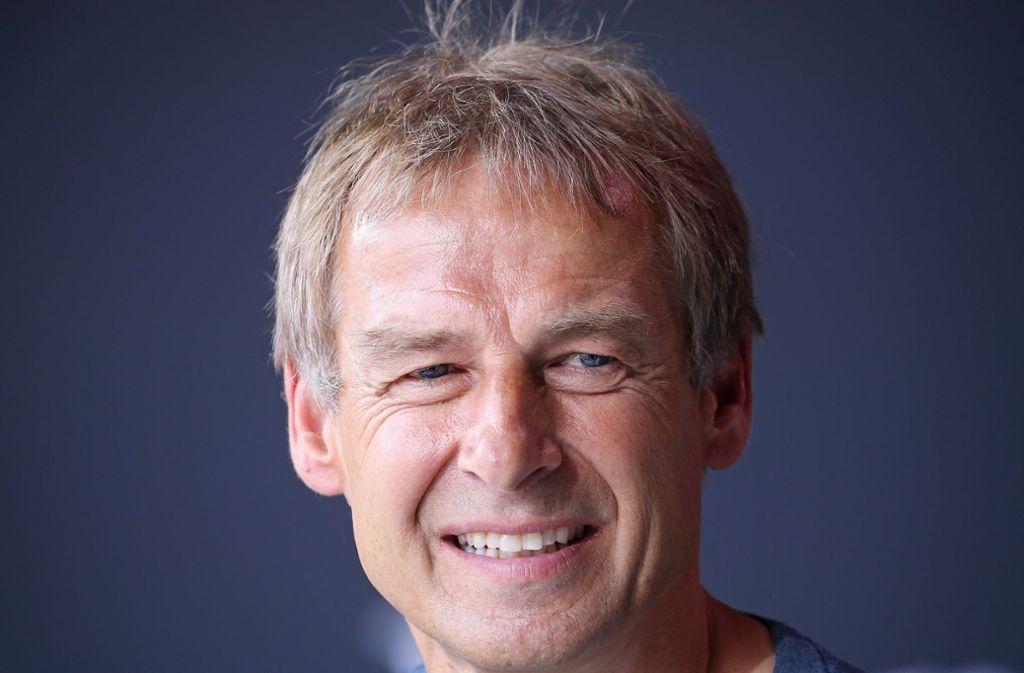 Jürgen Klinsmann, Vereinslegende des VfB Stuttgart Foto: Baumann