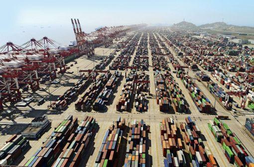 China und USA in Teilbereichen handelseinig