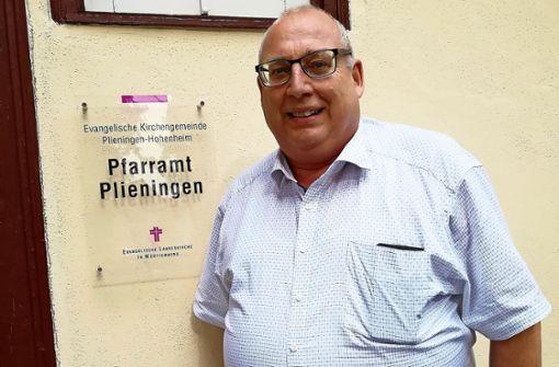 Pfarrer Ziehmann verabschiedet sich