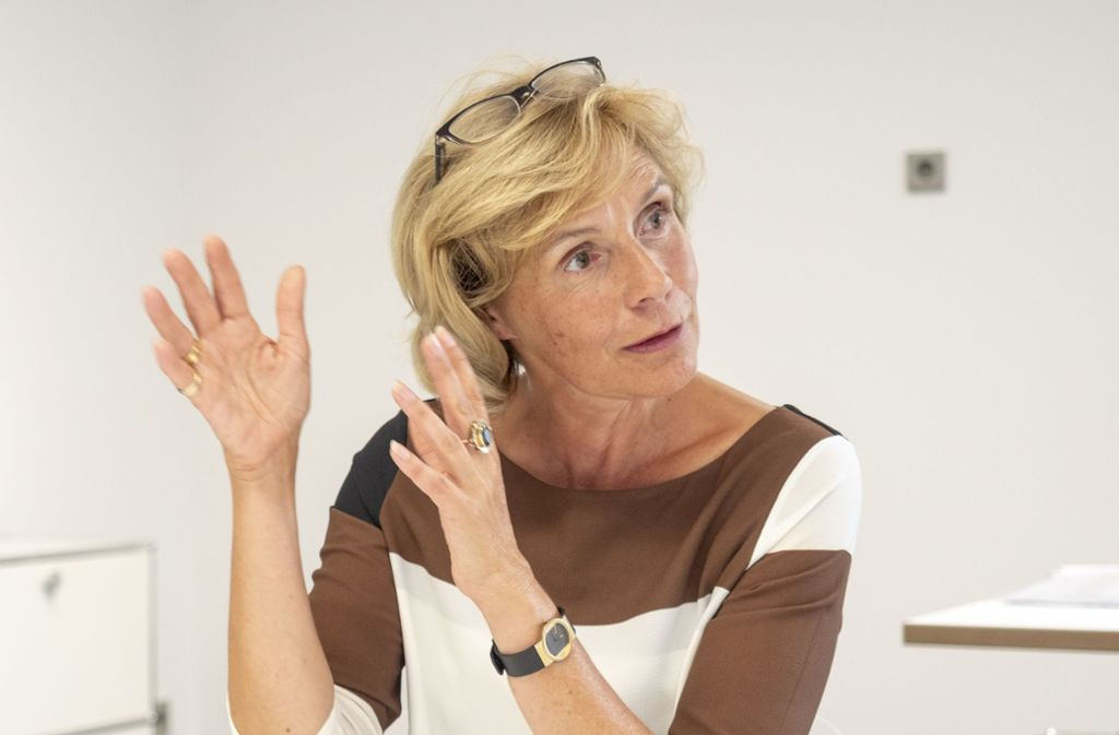 Gabriele Nießen hat Ludwigsburg Ende Januar verlassen, Ende März wird ihre Nachfolge geklärt. Foto: factum