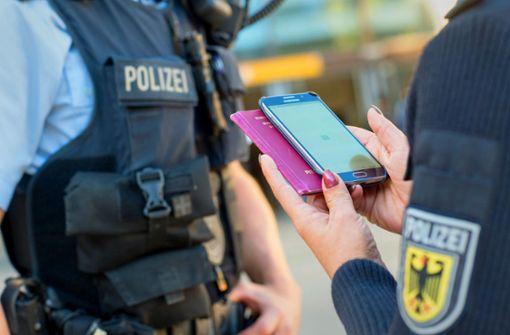 Smartphones sind bei der Polizei  Mangelware