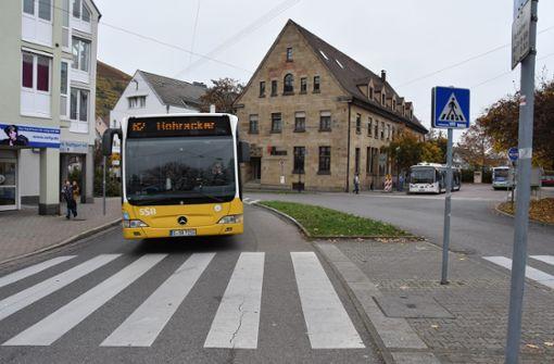 Busfahrgäste müssen sich sputen