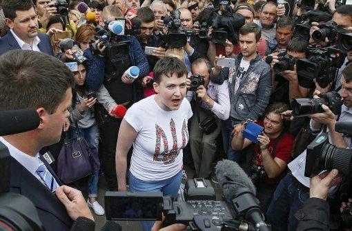 Sawtschenko traut sich Präsidentenamt zu