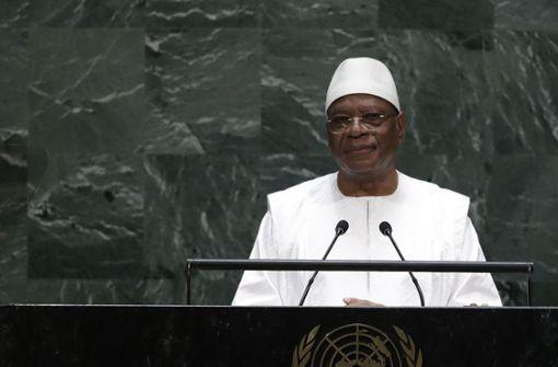 Präsident Keïta nach mutmaßlichen Putschversuch zurückgetreten