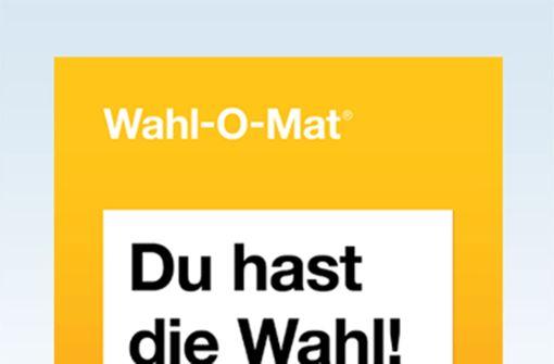 Wahl-O-Mat: Welche Partei passt zu Ihnen?