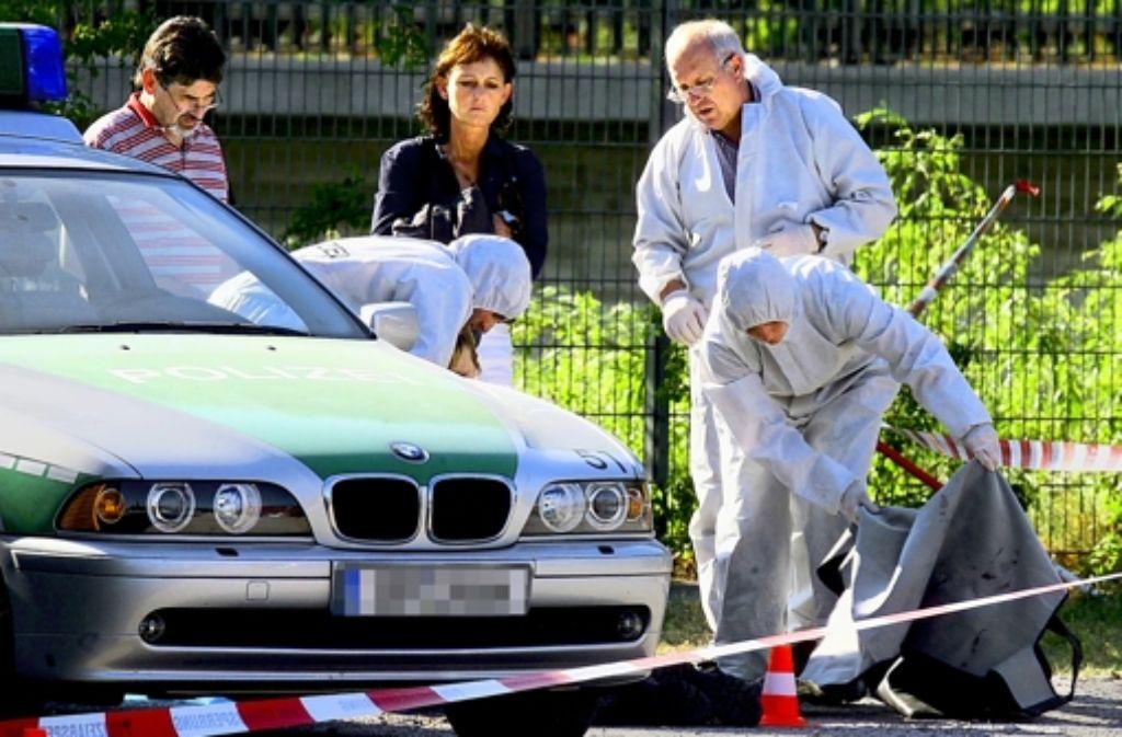 Die Polizistin Michèle Kiesewetter wurde 2007 auf der Heilbronner Theresienwiese erschossen. Foto: dpa
