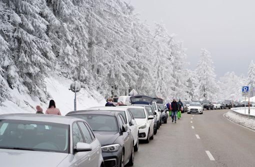 Land will gegen Überfüllung von Ski- und Wandergebieten vorgehen