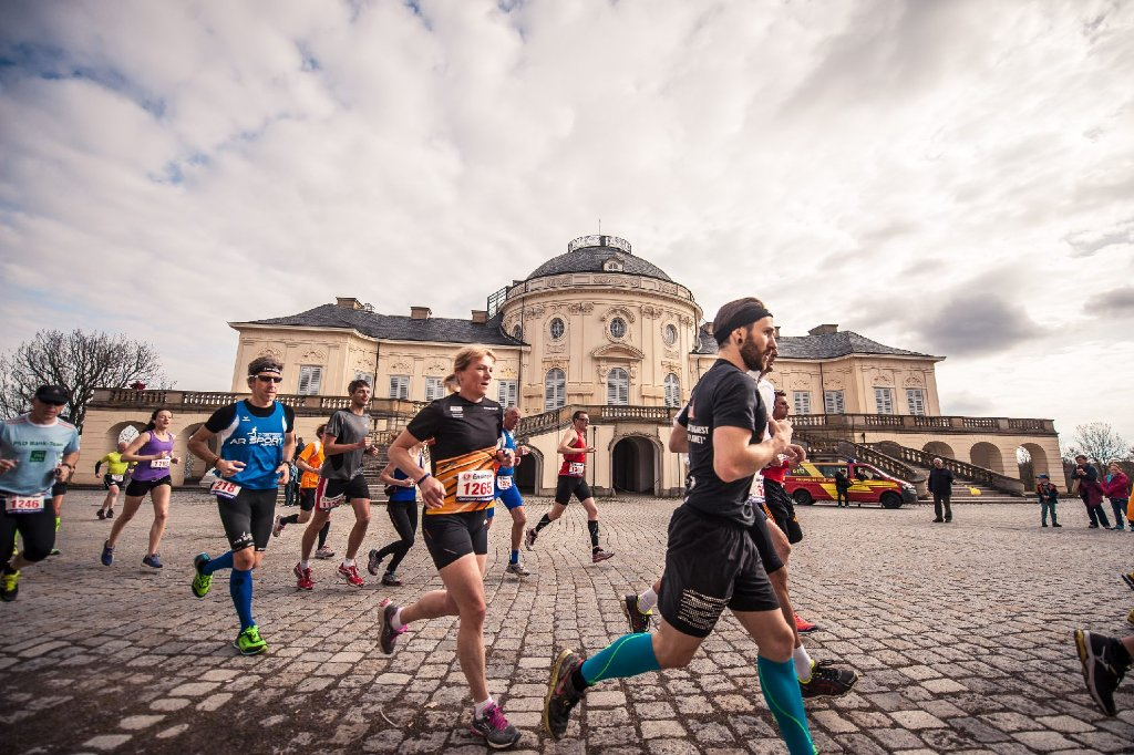 Der Solitudelauf wurde in diesem Jahr bereits zum 30. Mal ausgetragen. Knapp 1800 Teilnehmer liefen, so weit sie ihre Füße trugen. Foto: www.7aktuell.de | Florian Gerlach