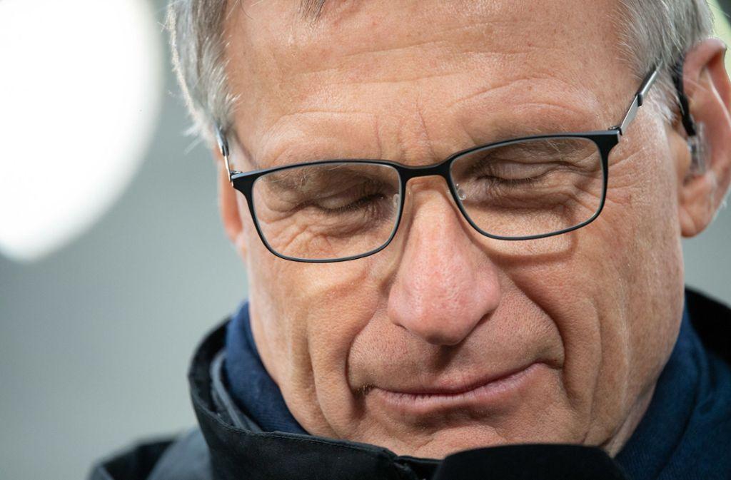 Michael Reschke muss den VfB Stuttgart nach rund eineinhalb Jahren verlassen. Foto: dpa