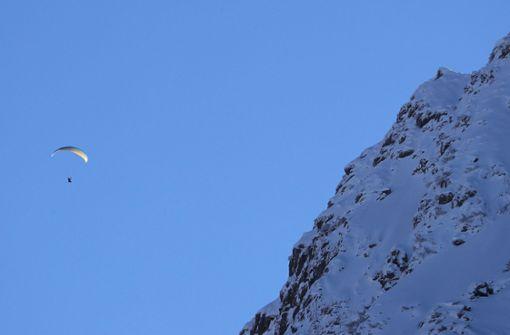 Gleitschirmflieger stirbt nahe Zugspitze