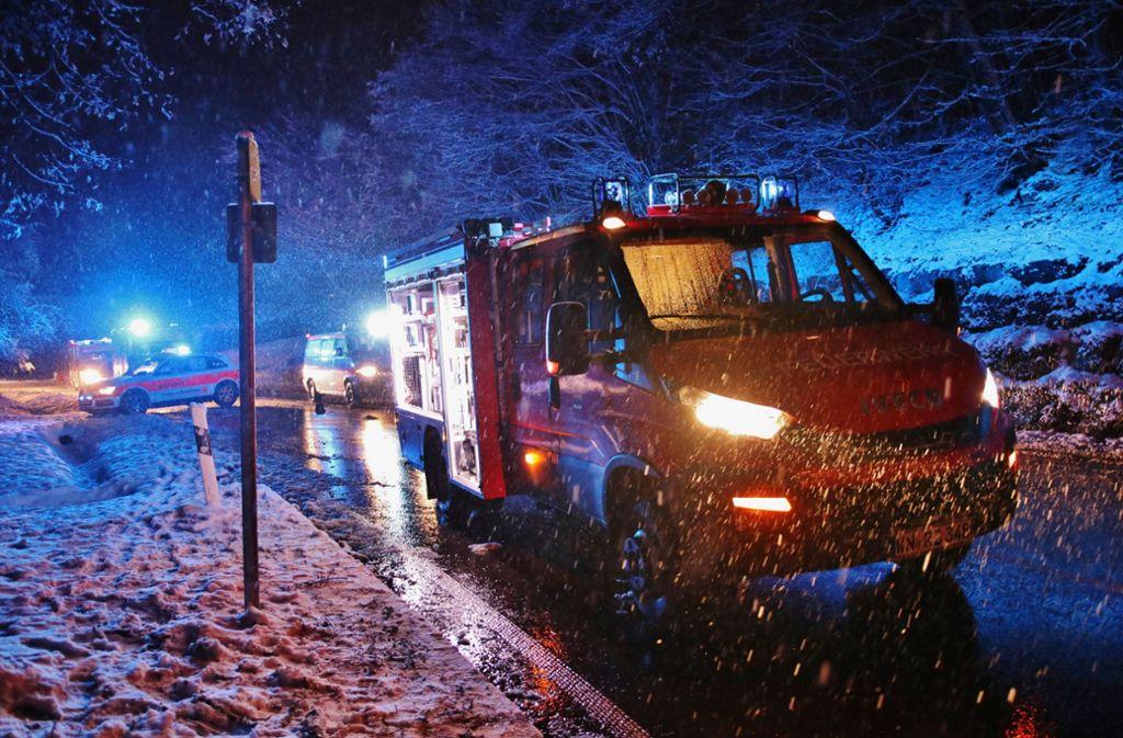 Der Dauerschnee hat zu vielen Unfällen in der Region geführt. Foto: 7aktuell.de/ Lermer