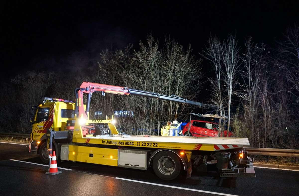 Am Montagabend hat sich bei Göppingen ein schwerer Unfall ereignet. Foto: SDMG/SDMG / Woelfl