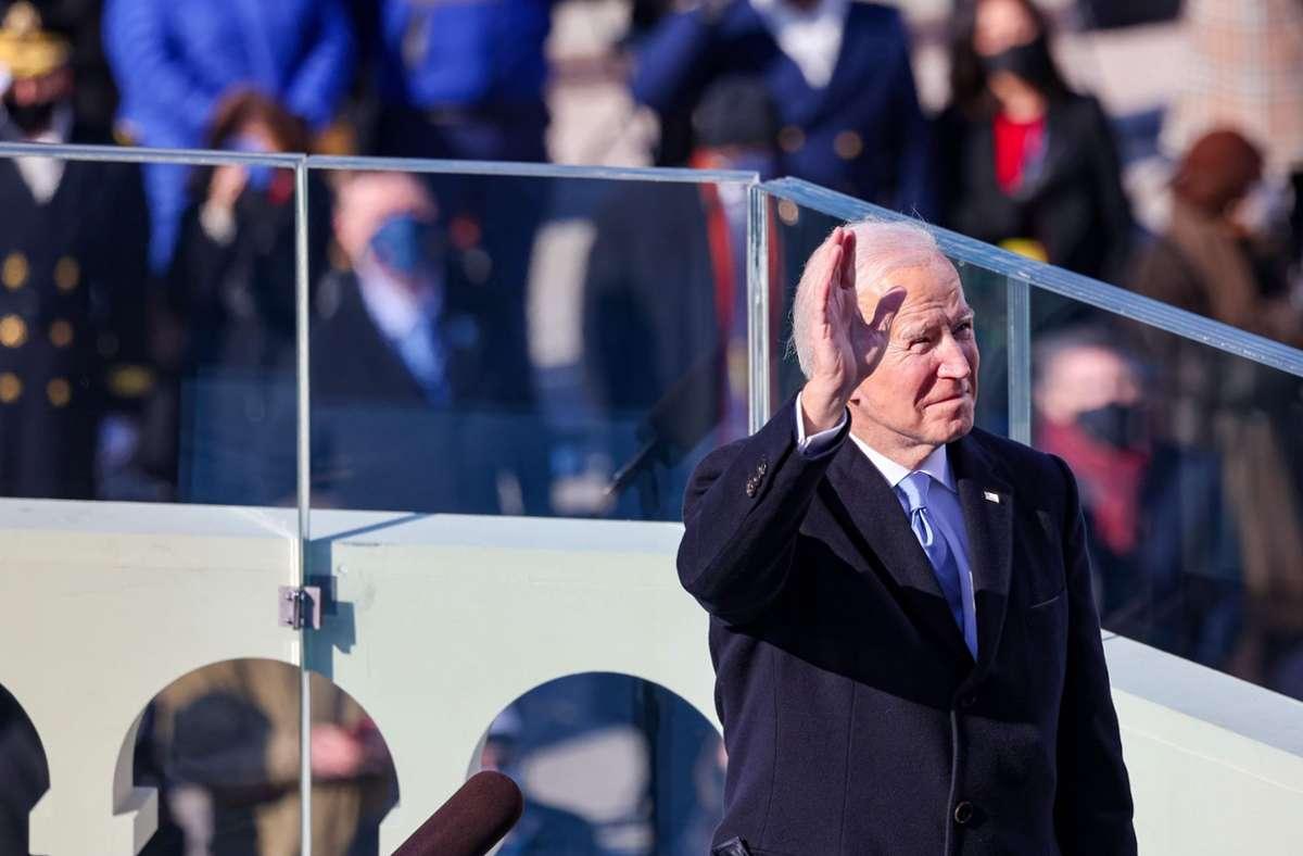 Der 46. Präsident der Vereinigten Staaten: Joe Biden Foto: AFP/TASOS KATOPODIS