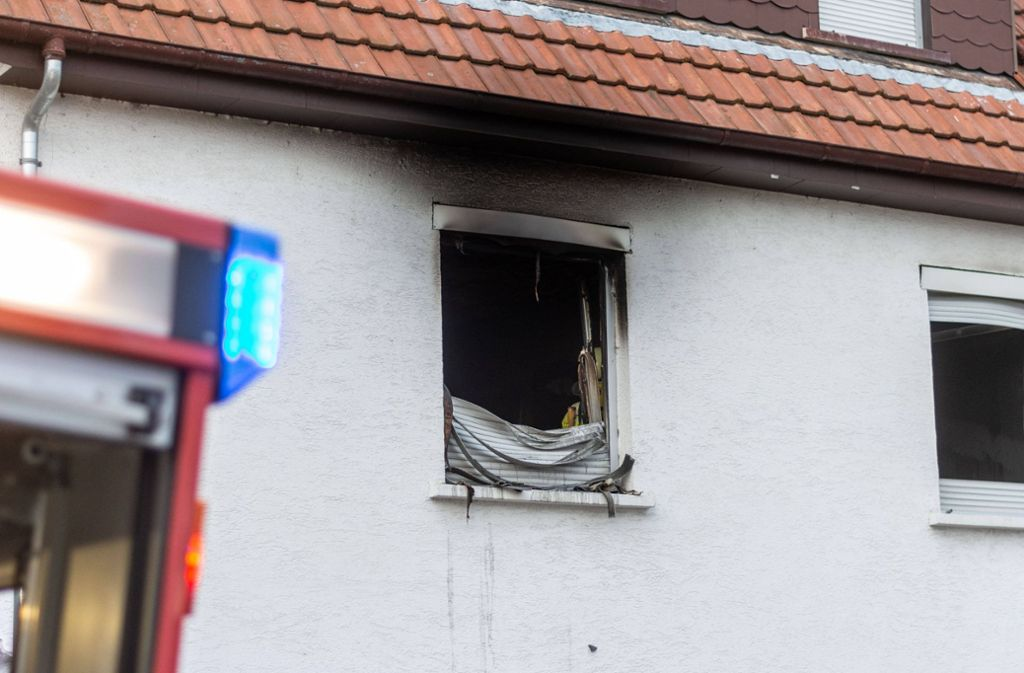Der 51-Jährige soll das Feuer im ersten Stock des Hauses gelegt haben. Foto: /7aktuell/Moritz Basserman/Archiv