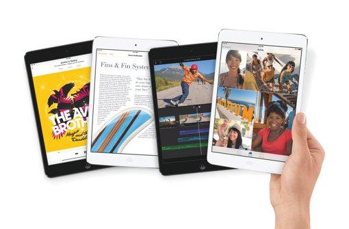 iPad Air und iPad mini mit Retina Display