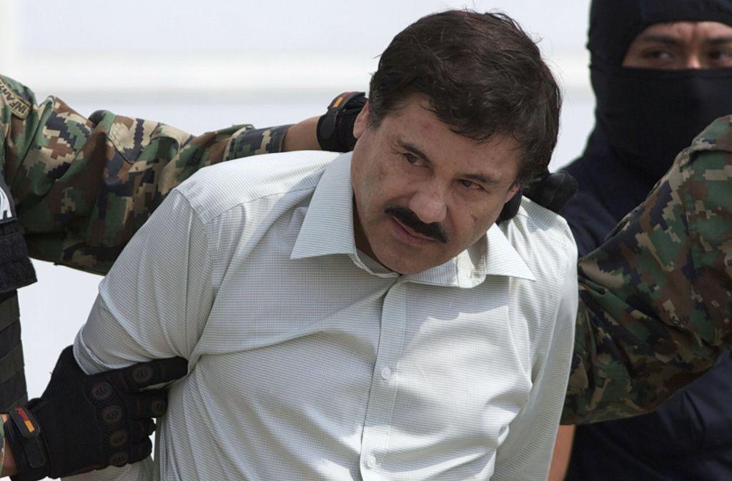 """El Chapo"" muss lebenslang ins Gefängnis. Foto: dpa"