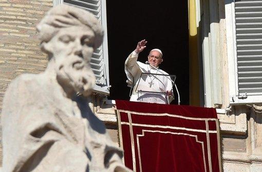 Papst gegen moderne Sklaverei