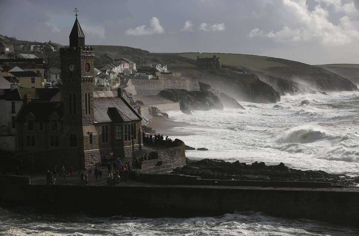 Cornwall ist bisher bekannt für eine raue Landschaft in rauem Klima, keineswegs als Treffpunkt für höchstrangige Politiker. Foto: Getty Images/Matt Cardy