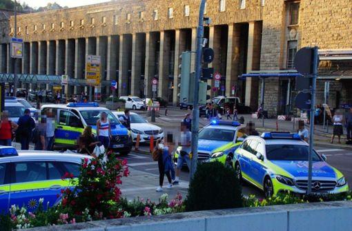 Jugendgruppe auf der Königstraße war auffällig aggressiv