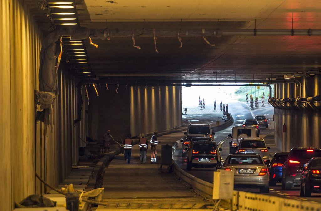 In den nächsten Tagen ist der Schwanenplatztunnel komplett gesperrt. Foto: Leif Piechowski/LICHTGUT/Leif Piechowski