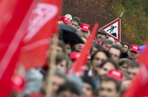 Verdi ruft zu Protesten auf