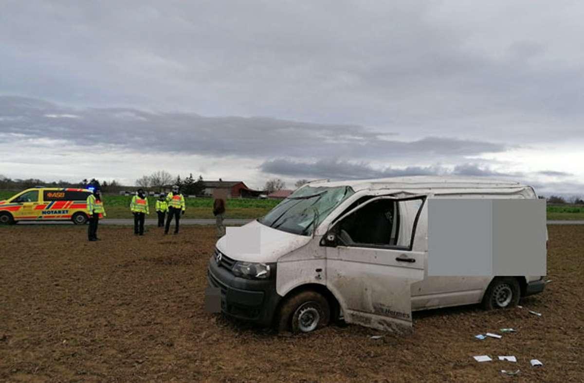 Der Unfall ereignete sich zwischen Ditzingen und Leonberg. Foto: Andreas Rosar/Fotoagentur Stuttgart