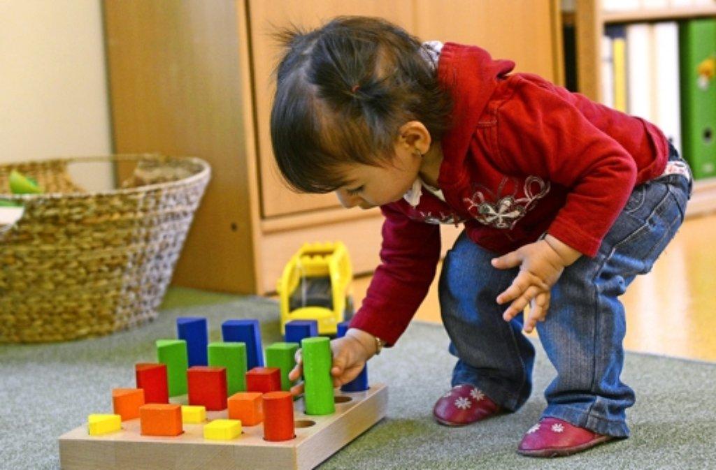 Es wird geprüft, ob Kinder auch im Sielminger Bürgerhaus spielen könnten. Foto: dpa