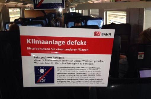 Bahn wappnet sich gegen Klimawandel