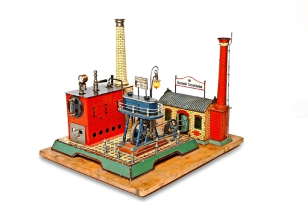 Für 45000 Euro versteigert: Märklin-Dampfmaschine mit E-Werk Foto: