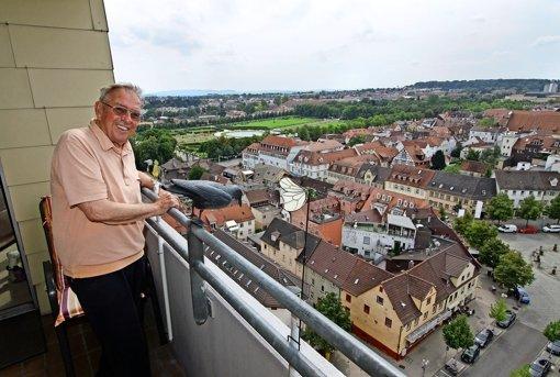 Ein Zimmer im Himmel über Ludwigsburg