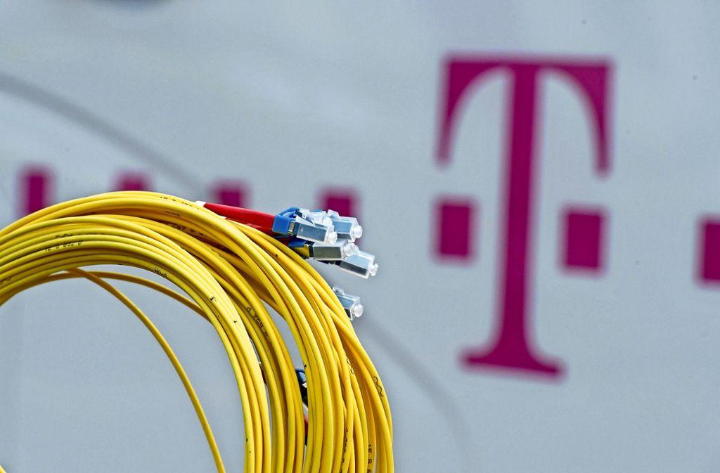 In allen Unterlagen ist stets nur die Telekom als Verhandlungspartner genannt. Dies missfällt nicht nur in Sindelfingen. Foto: dpa