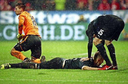 Der VfB liegt am Boden