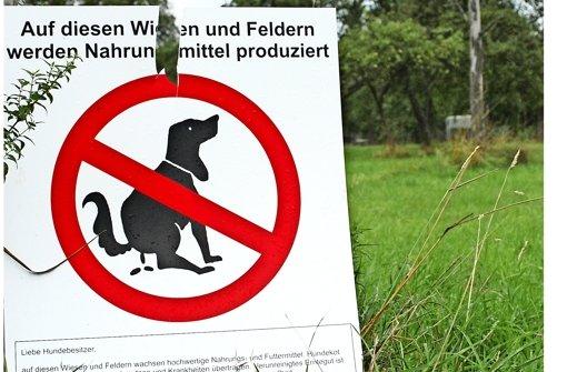 Neue Grünflächen für die Hunde ausweisen
