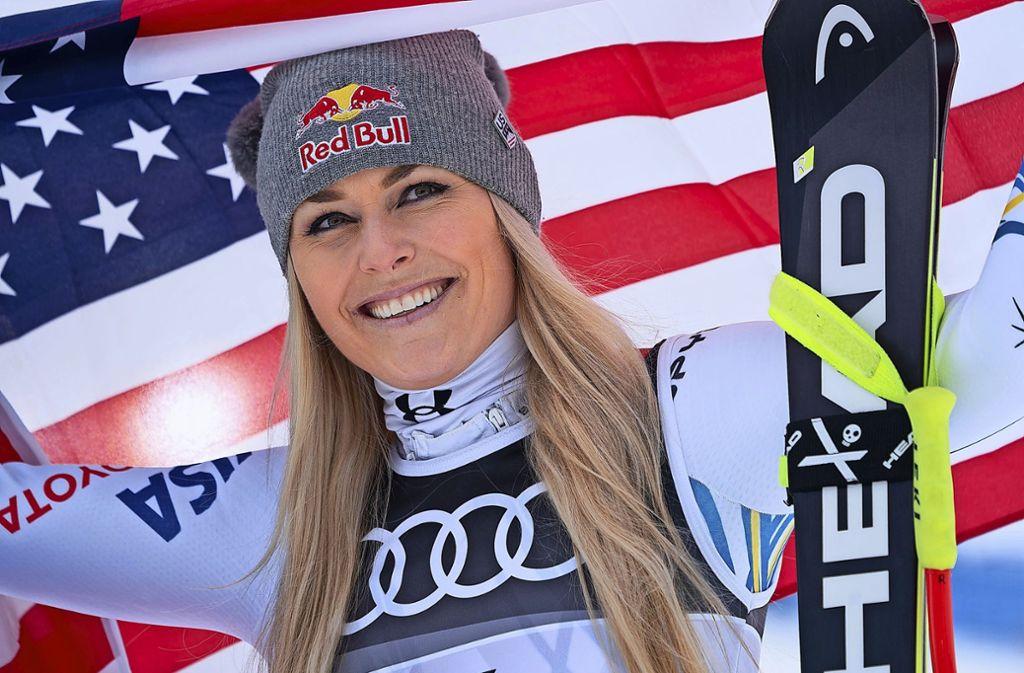 Zum Abschluss der Karriere gab es noch mal eine Bronzemedaille: Lindsey Vonn Foto: dpa