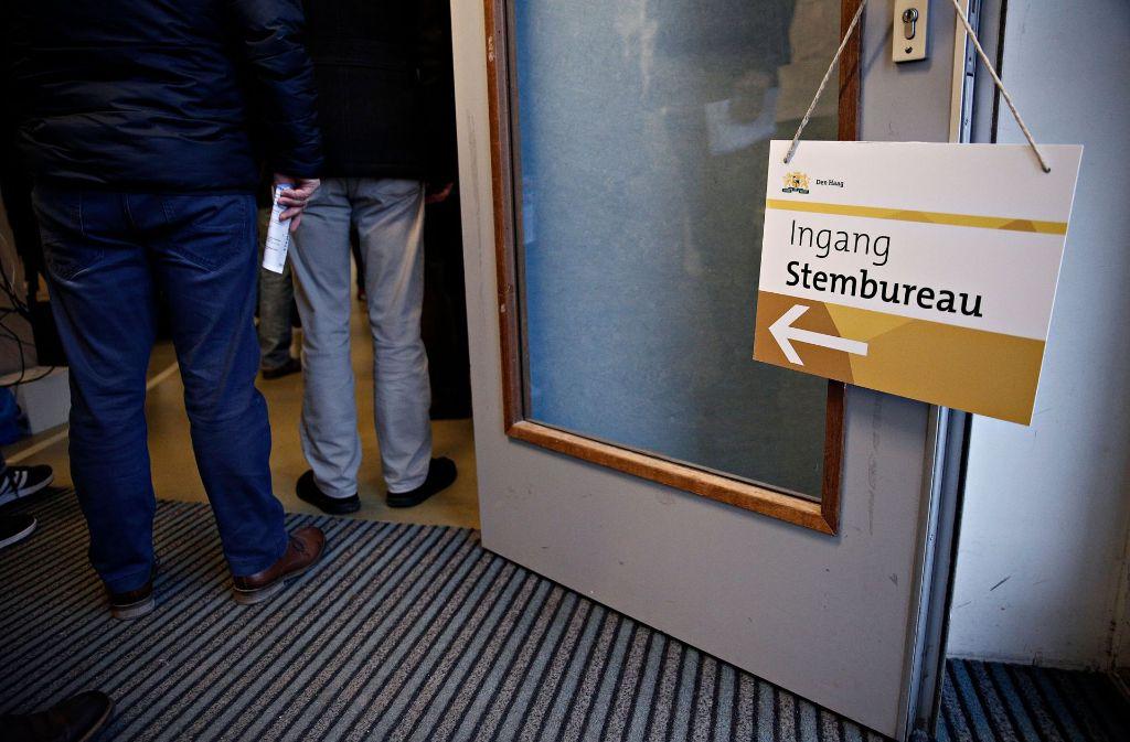 Die Niederlande wählen ein neues Parlament. Foto: Depo Photos via ZUMA Wire/dpa