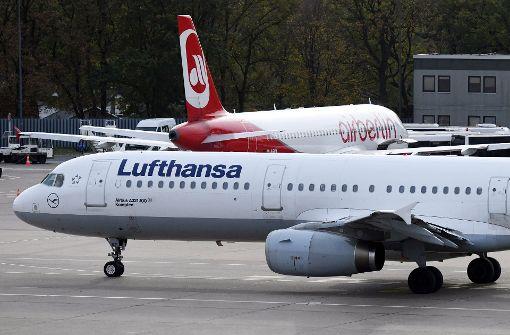 Lufthansa macht sich bereit für Air Berlin