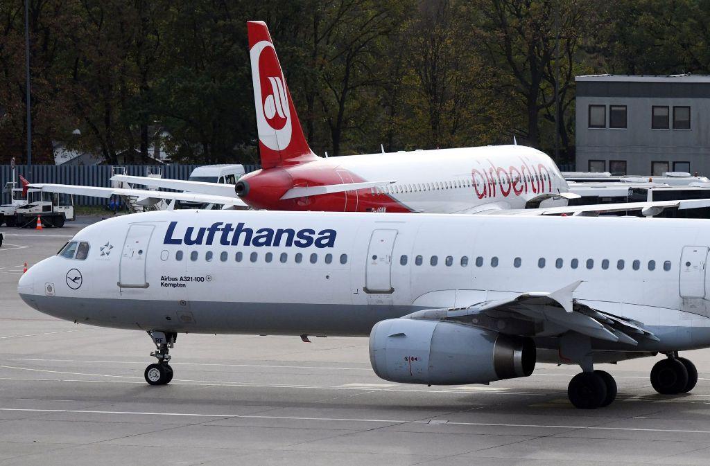 Mit einem erneuten Rekordgewinn im Rücken kann die Lufthansa im kommenden Jahr die Integration großer Teile der insolventen Air Berlin angehen. Foto: dpa