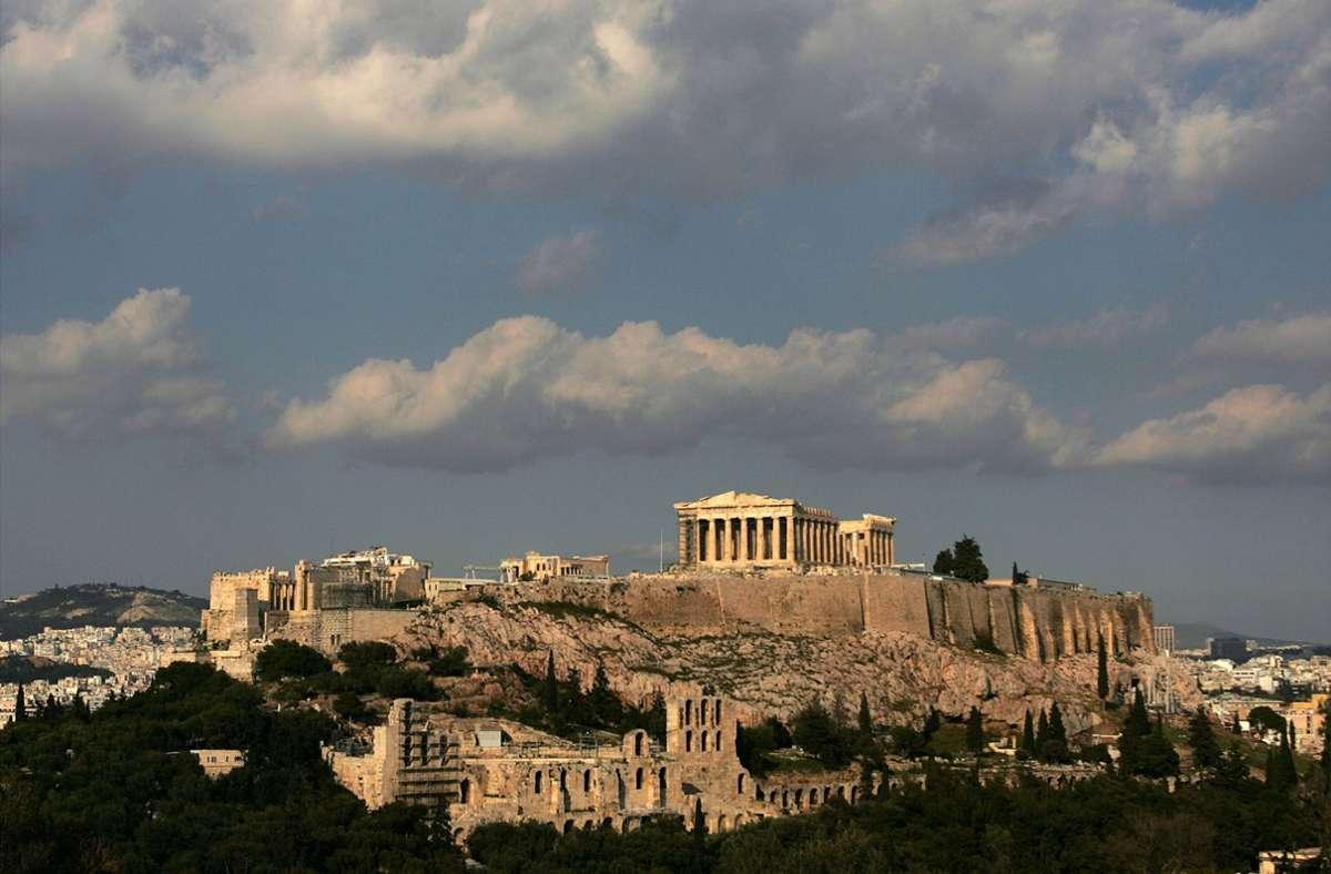 Beliebtes Ausflugsziel in Griechenland: Die Akropolis (Symbolbild) Foto: dpa/ORESTIS PANAGIOTOU