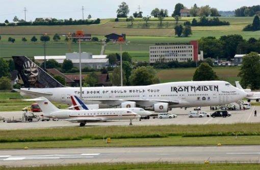 Iron Maiden stellt Merkel und Hollande in den Schatten