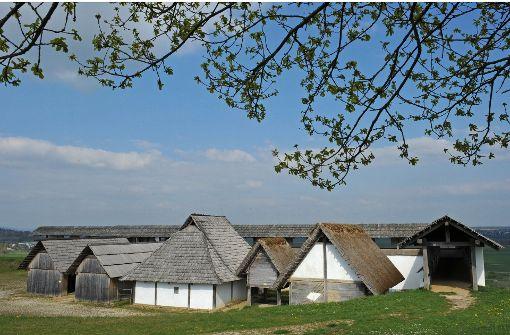 Wie vor 2000 Jahren Kelten auf der Raite lebten