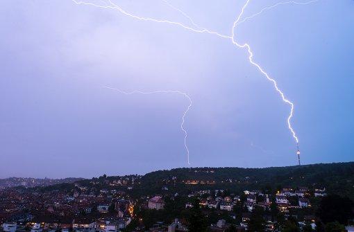 Vergleichsweise wenig Blitzeinschläge im Südwesten