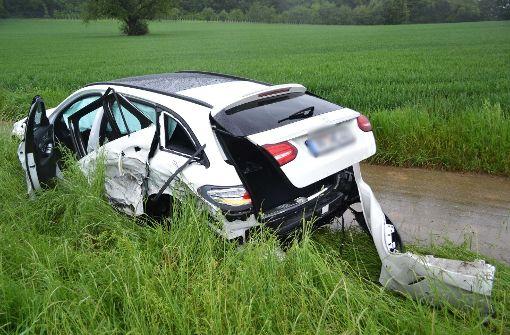 18-Jähriger rast mit Mercedes-AMG in den Gegenverkehr