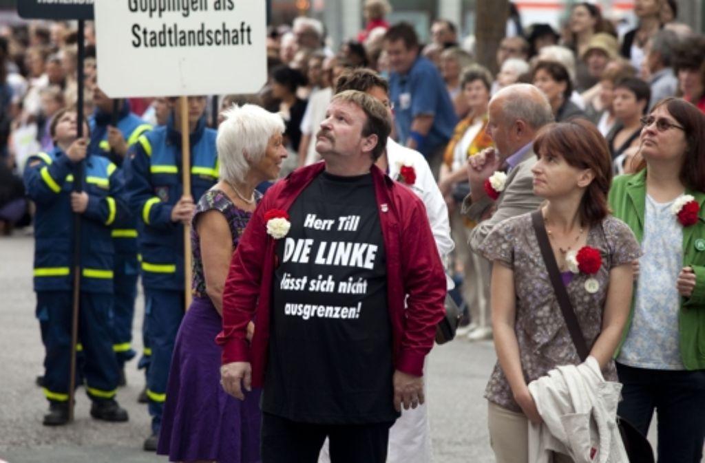 Beim Maientag 2010 ist Christian Stähle noch zusammenmit den anderen Fraktionen marschiert. Vom OB fühlte er sich schon damals ausgegrenzt. Foto: Horst Rudel